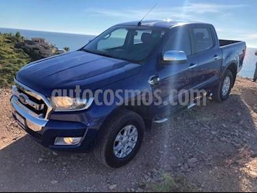 Foto venta Auto usado Ford Ranger Crew Cab XLT 4x2 MT (2017) color Azul precio $340,000