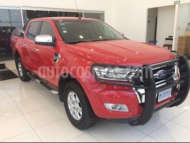 Foto venta Auto usado Ford Ranger Crew Cab XLT 4X4 AT (2017) color Rojo precio $410,000