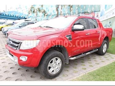 Foto venta Auto Seminuevo Ford Ranger Limited  Crew Cab 4-ptas (2016) color Rojo precio $330,000