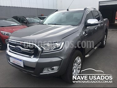 Foto venta Auto Usado Ford Ranger Limited 3.2L 4x4 TDi CD Aut (2017) color Gris