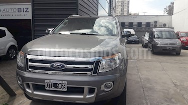 Foto venta Auto usado Ford Ranger Limited 3.2L 4x4 TDi CD Aut (2015) color Gris precio $1.280.000