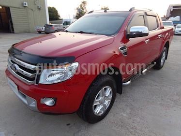 Foto venta Auto usado Ford Ranger Limited 3.2L 4x4 TDi CD  (2013) color Rojo Bari precio $900.000