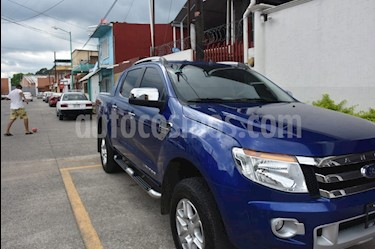 Ford Ranger Limited 4x2 Cabina Doble usado (2015) color Azul precio $320,000
