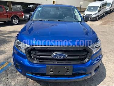 Ford Ranger XLT DIESEL CREW CAB 3.2L 4X4 TA PIEL usado (2020) color Azul Electrico precio $598,000
