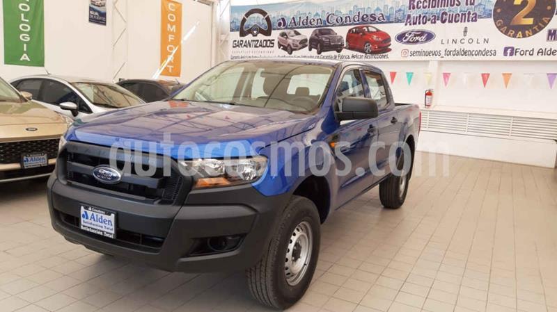 Ford Ranger XL Cabina Doble  usado (2020) color Azul precio $434,600