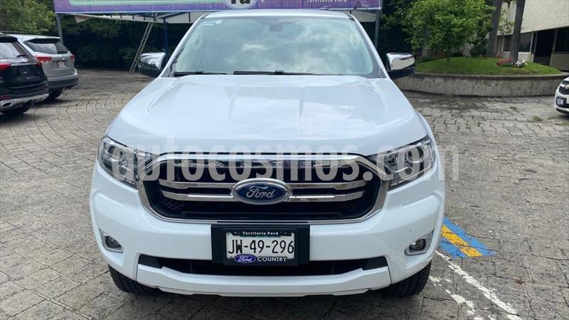 Ford Ranger XLT gasolina 4x2 Cabina Doble usado (2020) color Blanco precio $398,000