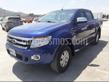 Ford Ranger 4P XLT CREW CAB TM5 A/AC. VE F. NIEBLA RA-16 usado (2014) color Azul Marino precio $245,000
