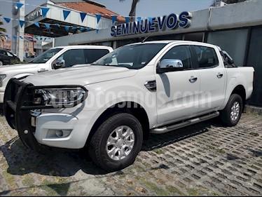 Ford Ranger XLT GAS CREW CAB usado (2017) color Blanco precio $328,000