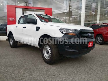Ford Ranger 4p XL Doble Cab L4/2.5 Man B/A usado (2017) color Blanco precio $275,000
