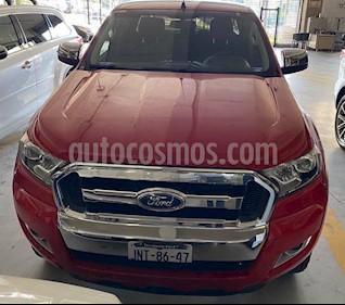 Ford Ranger XLT Diesel 4x4 Cabina Doble usado (2017) color Rojo precio $449,000