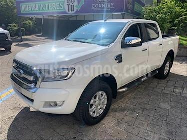 Ford Ranger XLT gasolina 4x2 Cabina Doble usado (2019) color Blanco precio $398,000