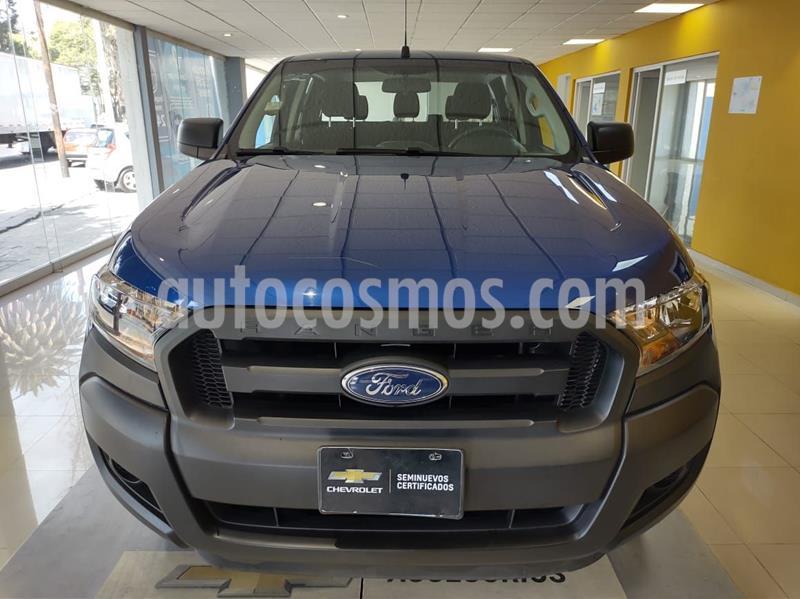 Ford Ranger XL Cabina Doble  usado (2019) color Azul precio $349,900