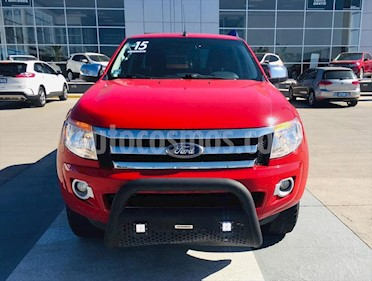Ford Ranger XLT CREW CAB usado (2015) color Rojo precio $260,000