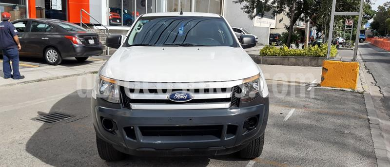 Ford Ranger XL Cabina Doble usado (2015) color Blanco precio $201,600