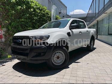 Ford Ranger XLT Diesel 4x4 Cabina Doble Piel usado (2017) color Blanco precio $270,000