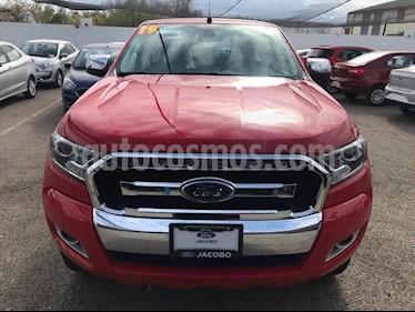 Ford Ranger XLT GAS CREW CAB 2.5L usado (2019) color Rojo precio $395,000