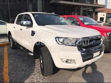 Ford Ranger XLT Gasolina 4x2 Cabina Doble usado (2017) color Blanco precio $325,000