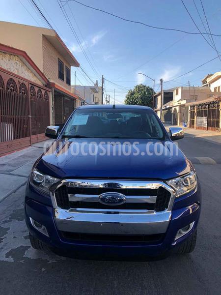 Ford Ranger XLT Cabina Doble Ac usado (2017) color Azul precio $309,900