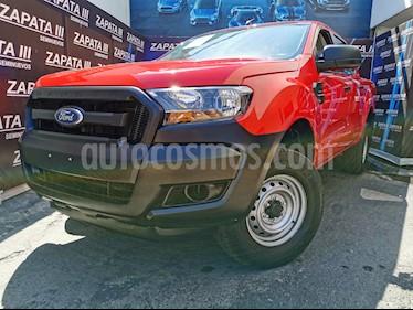 Ford Ranger XL Cabina Doble Ac usado (2018) color Rojo precio $315,000