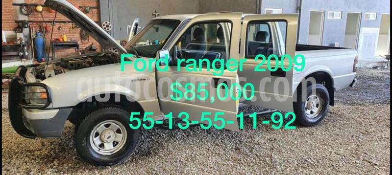 Ford Ranger XL Cabina Doble usado (2009) color Rojo precio $85,000