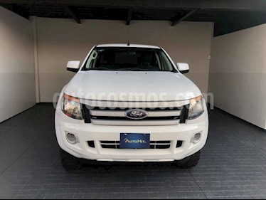 Ford Ranger 4p XL Doble Cab L4/2.5 Man usado (2015) color Blanco precio $237,800