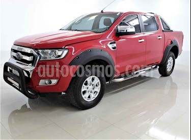 Ford Ranger XLT Diesel 4x4 Cabina Doble usado (2017) color Rojo precio $390,000