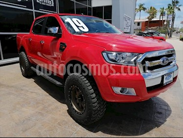 Ford Ranger XLT gasolina 4x2 Cabina Doble usado (2019) color Rojo precio $460,000