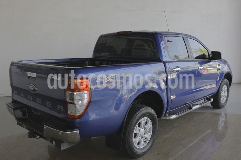 Ford Ranger XLT Diesel 4x4 Cabina Doble usado (2017) color Azul Marino precio $370,000