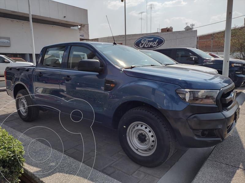 Foto Ford Ranger XL Gasolina Cabina Doble usado (2019) color Azul Marino precio $324,000