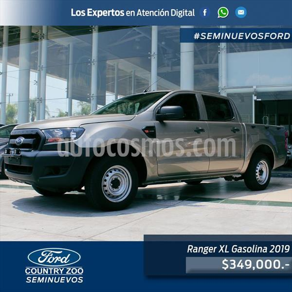 Ford Ranger XL Gasolina Cabina Doble usado (2019) precio $349,000
