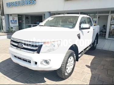 Ford Ranger XLT 4x2 Cabina Doble usado (2014) color Blanco precio $225,000