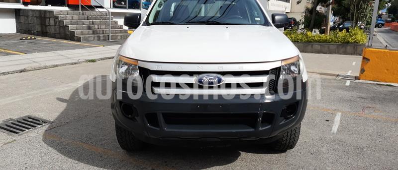 Ford Ranger XLT Cabina Doble usado (2015) color Blanco precio $201,600