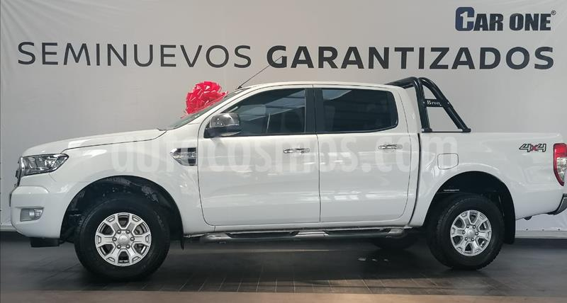 Ford Ranger XLT Diesel 4x4 Cabina Doble usado (2019) color Blanco precio $460,000