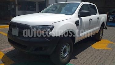 Ford Ranger 4P XL CREW CAB 2.5L TM5 A/AC. R-16 usado (2017) color Blanco precio $270,000