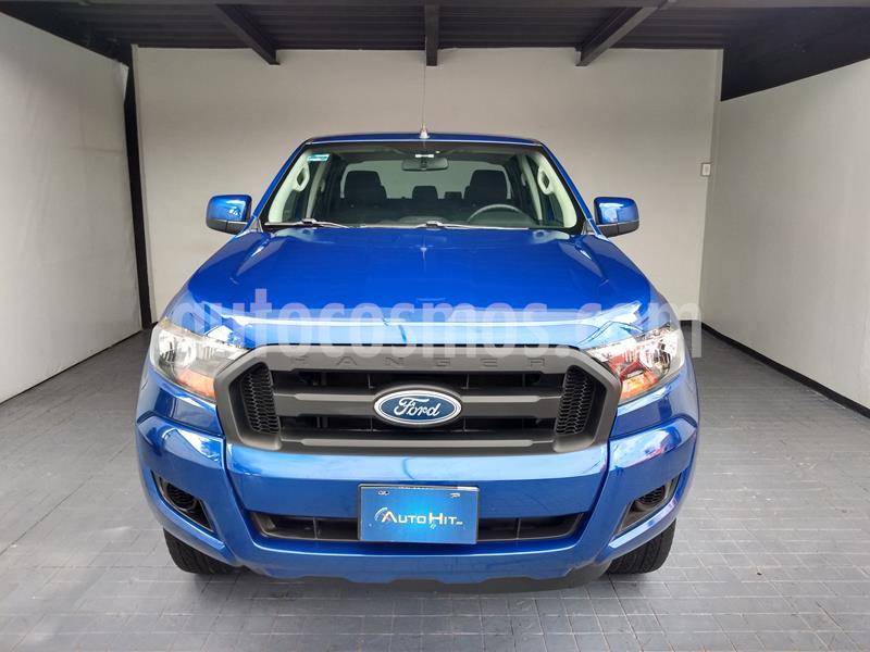 Ford Ranger XL Cabina Doble Ac usado (2017) color Azul Profundo precio $335,000