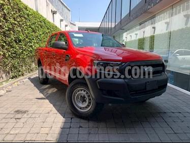 foto Ford Ranger 4P XL CREW CAB 2.5L TM5 A/AC. R-16 usado (2019) color Rojo precio $310,000