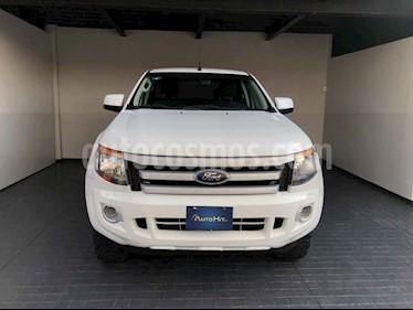 Ford Ranger 4p XL Doble Cab L4/2.5 Man usado (2015) color Blanco precio $237,800