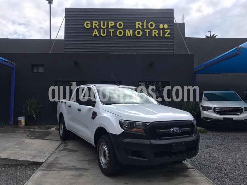 Ford Ranger XLT 4x2 Cabina Doble usado (2019) color Blanco precio $329,000