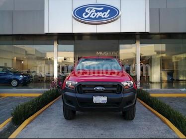 Ford Ranger XL Gasolina Cabina Doble 4x4 usado (2019) color Rojo precio $407,700