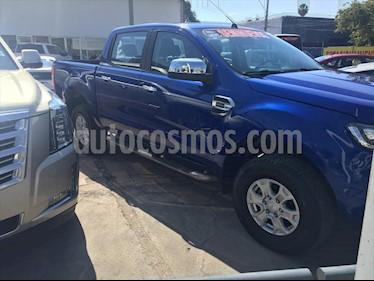Ford Ranger XLT GAS CREW CAB usado (2017) color Azul Electrico precio $329,000