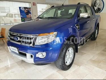 Ford Ranger Limited 4x2 Cabina Doble usado (2016) color Azul Electrico precio $295,000