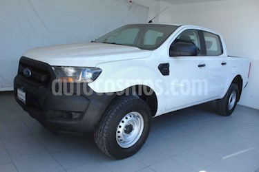 Ford Ranger 4p XL Doble Cab L4/2.2 Man Diesel 4x2 usado (2017) color Blanco precio $289,000