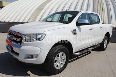 Ford Ranger XLT Diesel 4x4 Cabina Doble usado (2017) color Blanco Oxford precio $399,000