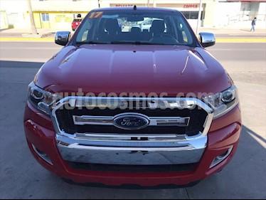 Ford Ranger XLT Diesel 4x4 Cabina Doble usado (2017) color Rojo precio $430,000