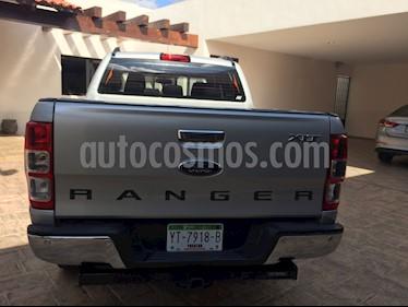 Ford Ranger XLT Diesel 4x4 Cabina Doble usado (2017) color Gris precio $469,000