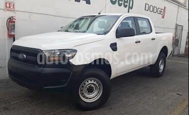 Ford Ranger 4P XL DOBLE CAB L4/2.5 MAN B/A usado (2017) color Blanco precio $290,000