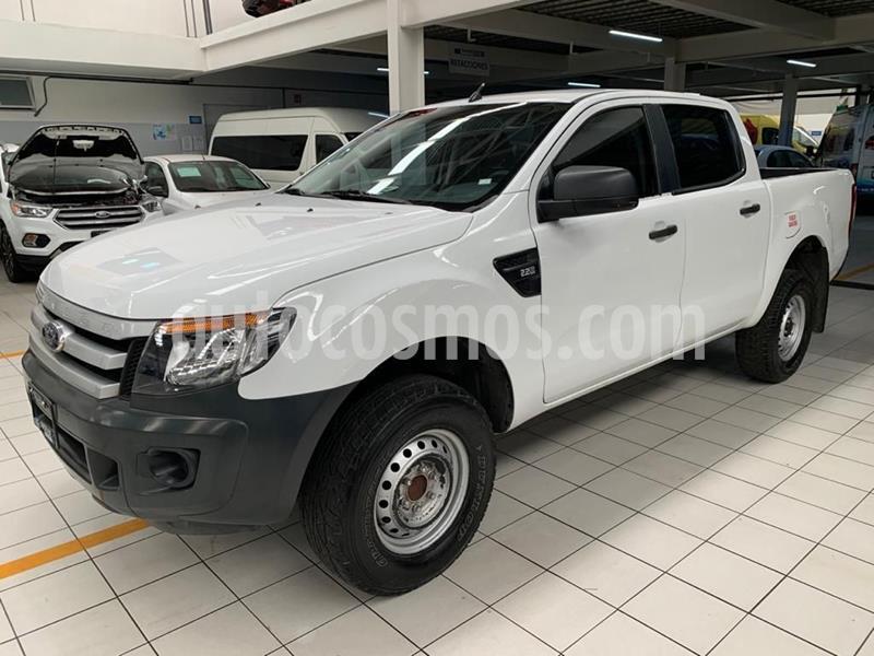 Ford Ranger XL Diesel Cabina Doble usado (2015) color Blanco precio $257,000
