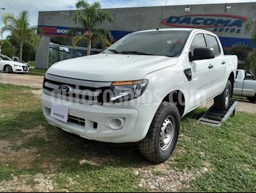 Foto venta Auto usado Ford Ranger XL 2.2L 4x2 TDi CD (2016) color Blanco