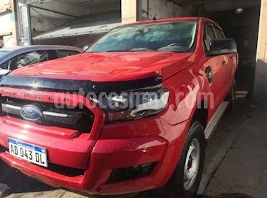 Foto venta Auto usado Ford Ranger XL 2.2L 4x2 TDi CD (2018) color Rojo Bari precio $950.000