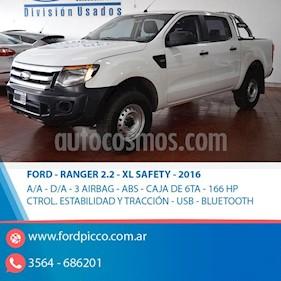 Foto venta Auto usado Ford Ranger XL 2.2L 4x2 TDi CS  (2016) color Blanco precio $795.000